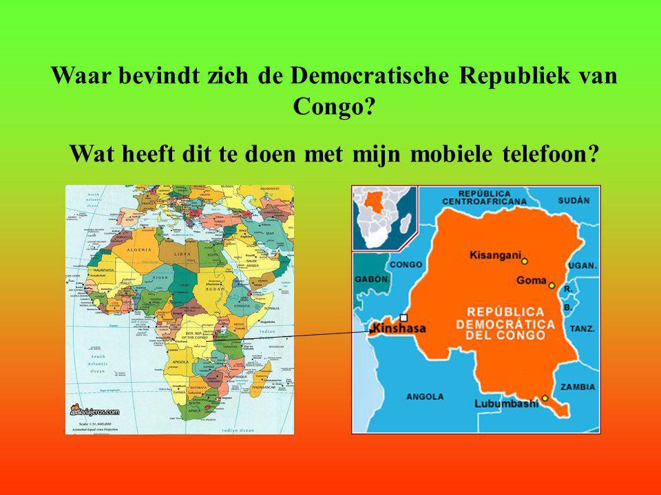 Waar bevindt zich de Democratische Republiek van Congo