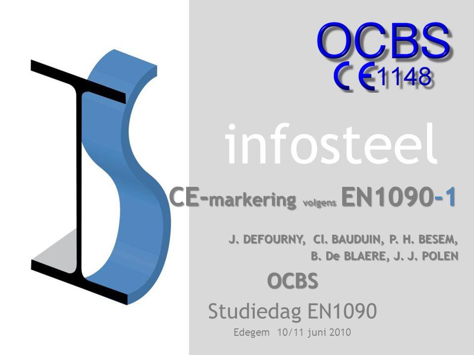 CE-markering volgens EN1090-1