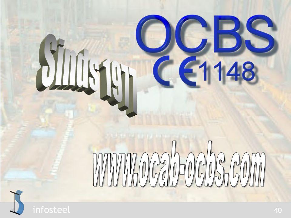 Sinds 1977 www.ocab-ocbs.com
