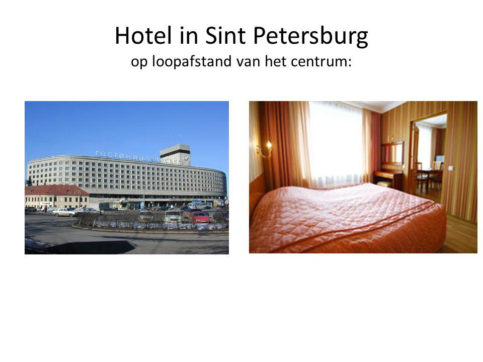 Hotel in Sint Petersburg op loopafstand van het centrum: