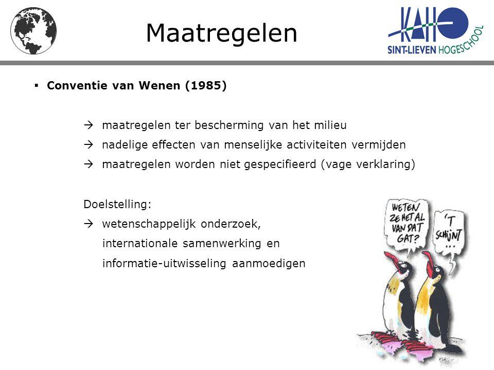 Maatregelen Conventie van Wenen (1985)