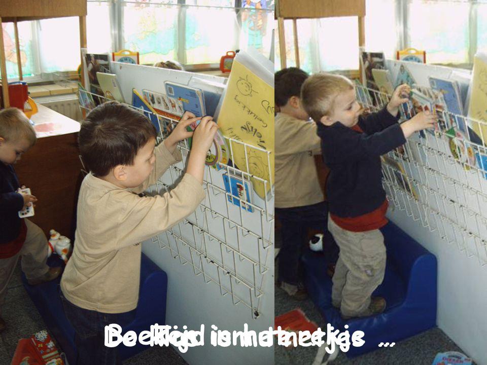 Boeken in het rekje … De klas is nu netjes … Tijd om te …