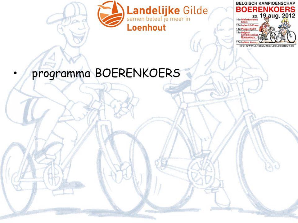 programma BOERENKOERS