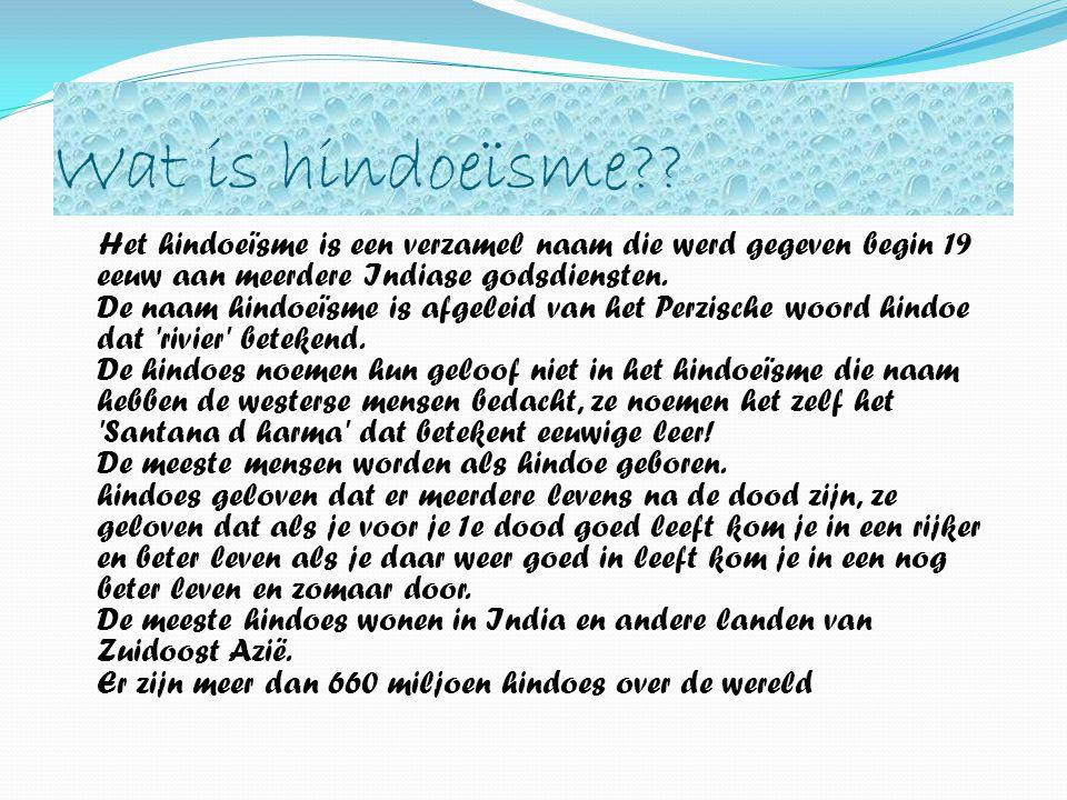 Wat is hindoeïsme