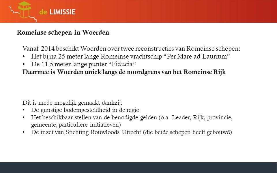 Romeinse schepen in Woerden