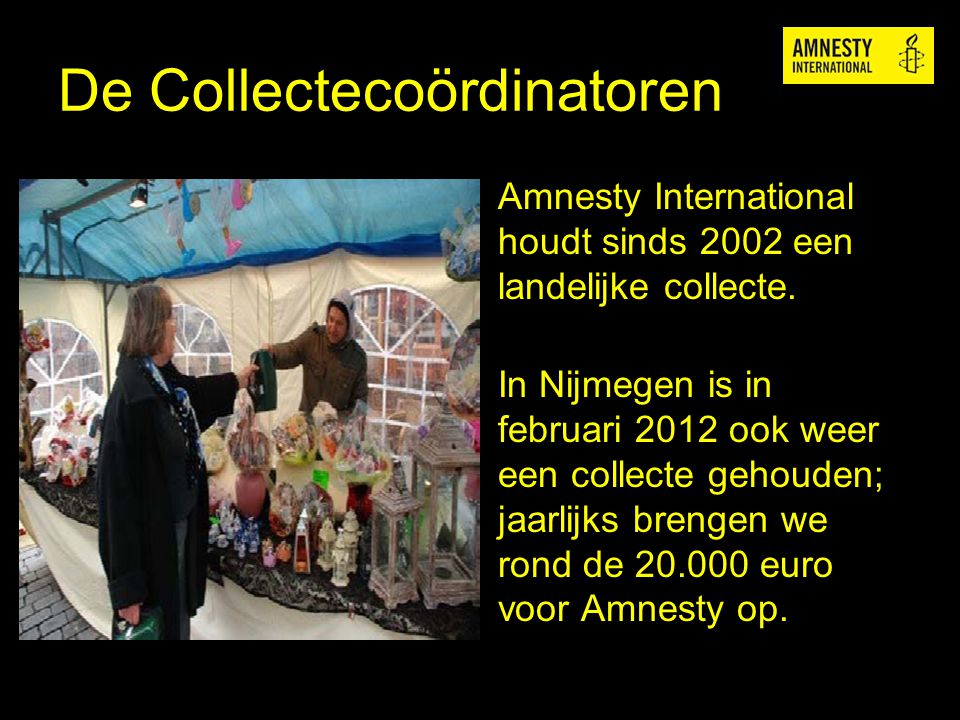De Collectecoördinatoren