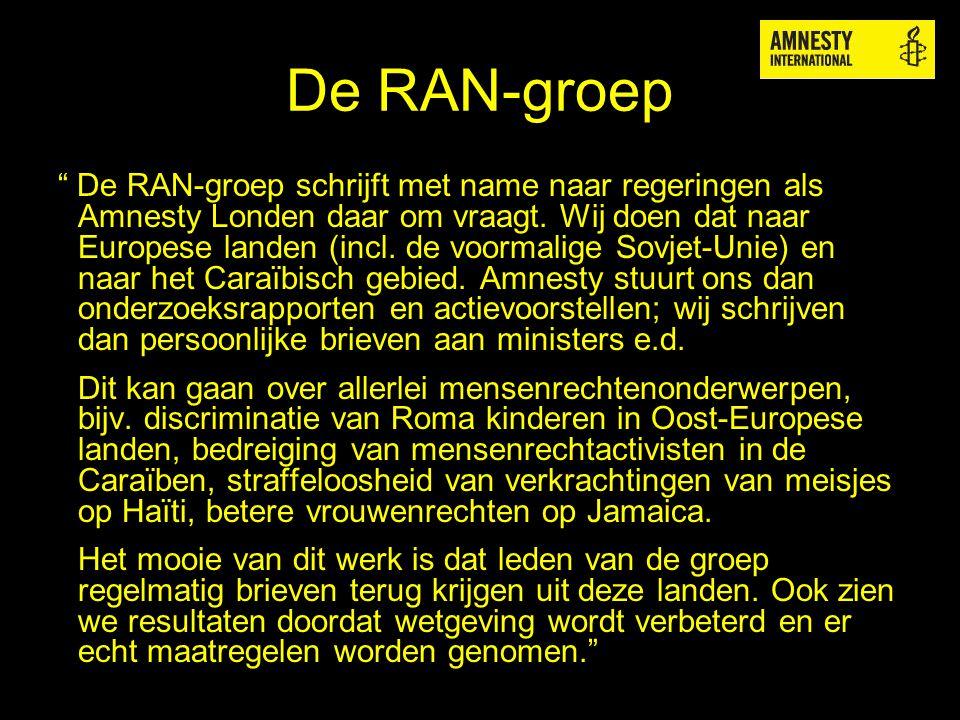 De RAN-groep