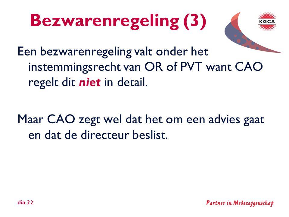 Bezwarenregeling (3)