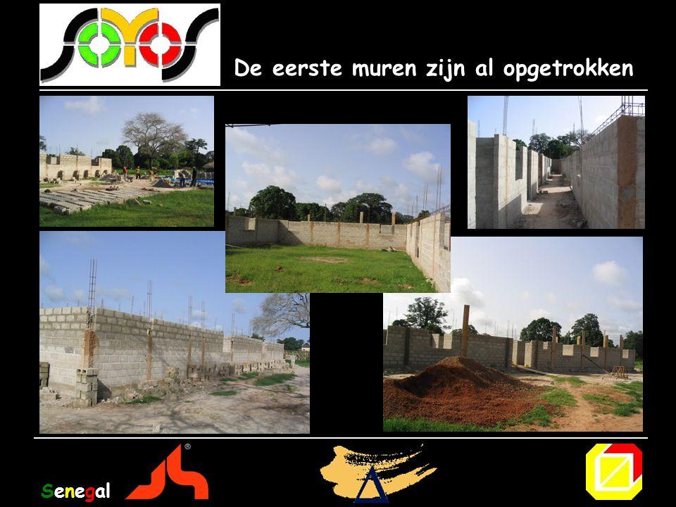 De eerste muren zijn al opgetrokken