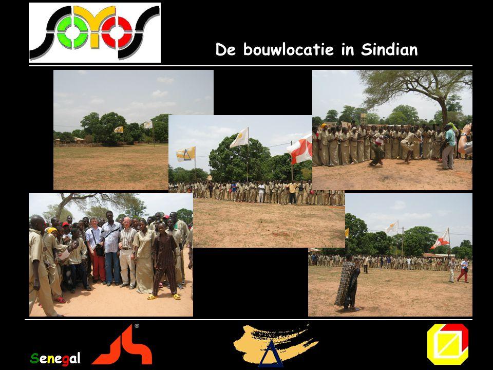 De bouwlocatie in Sindian