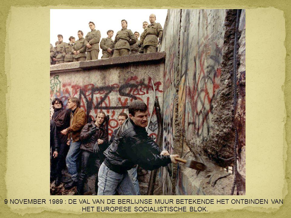 HET EUROPESE SOCIALISTISCHE BLOK.