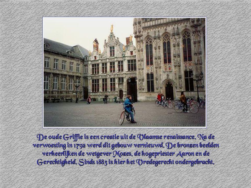 De oude Griffie is een creatie uit de Vlaamse renaissance
