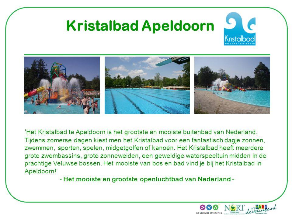 - Het mooiste en grootste openluchtbad van Nederland -