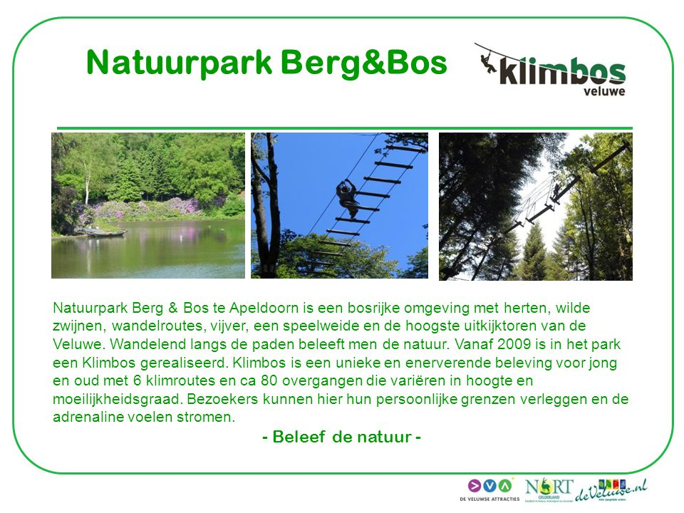 Natuurpark Berg&Bos - Beleef de natuur -