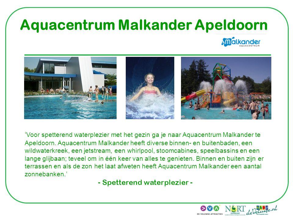 Aquacentrum Malkander Apeldoorn