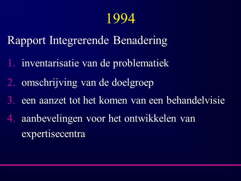 1994 Rapport Integrerende Benadering