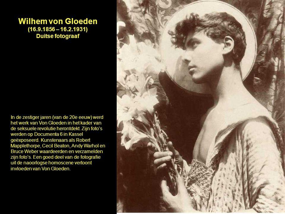 Wilhem von Gloeden (16.9.1856 – 16.2.1931) Duitse fotograaf