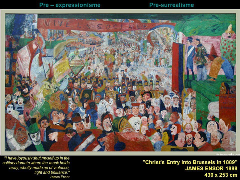 Pre – expressionisme Pre-surrealisme
