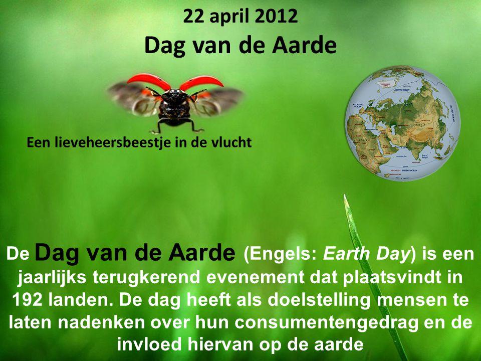 De (Engels: Earth Day) is een