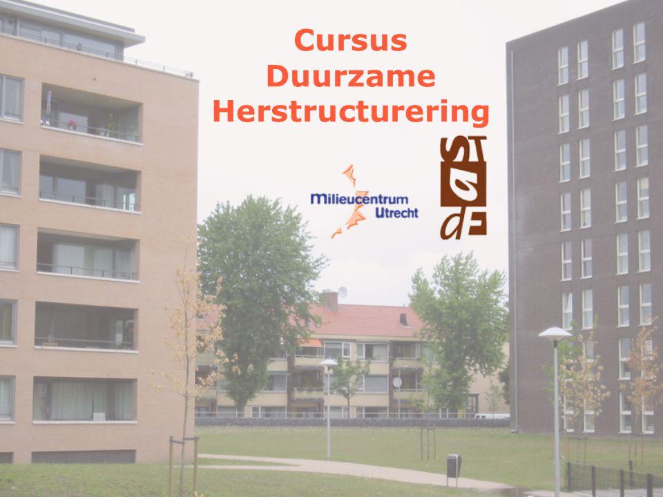 Cursus Duurzame Herstructurering