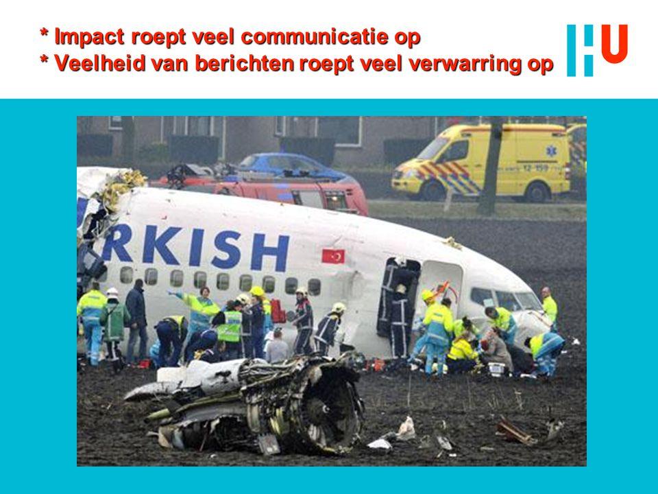Impact roept veel communicatie op