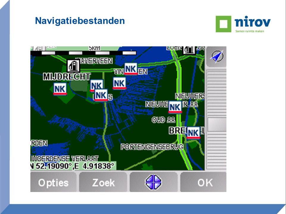 Navigatiebestanden