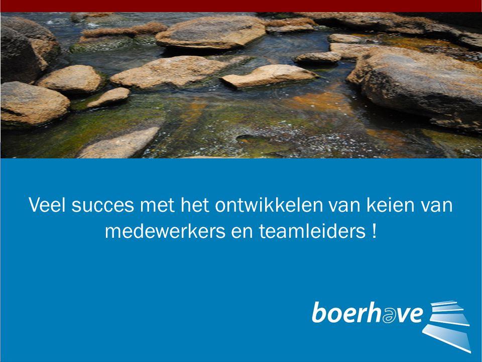 Veel succes met het ontwikkelen van keien van medewerkers en teamleiders !