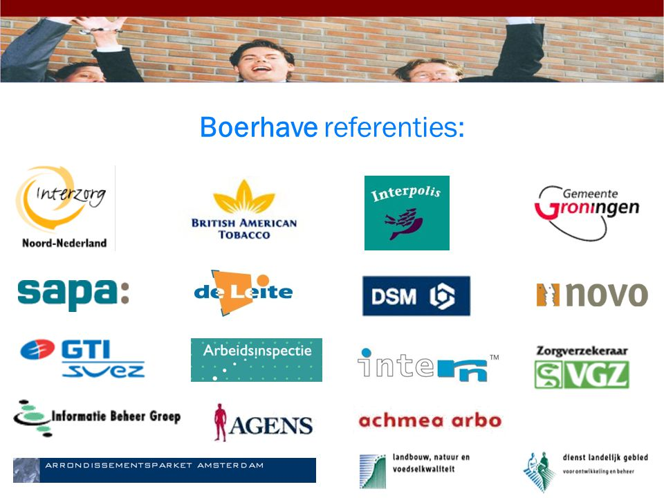 Boerhave referenties: