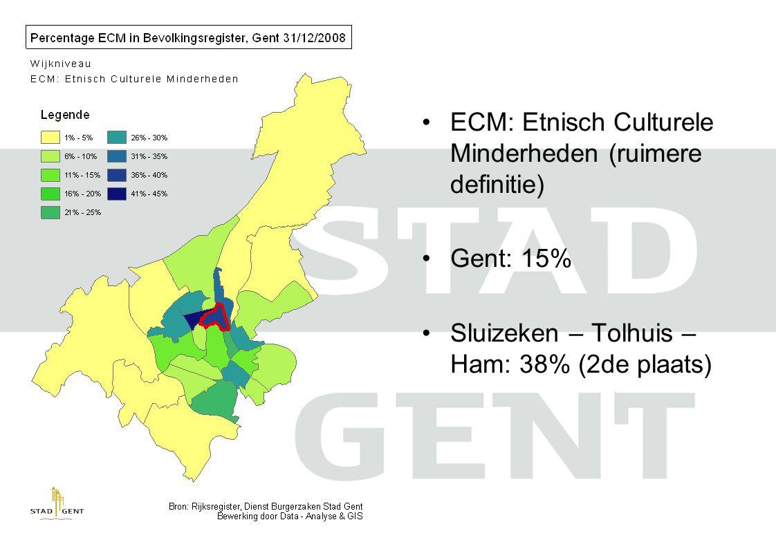 ECM: Etnisch Culturele Minderheden (ruimere definitie)
