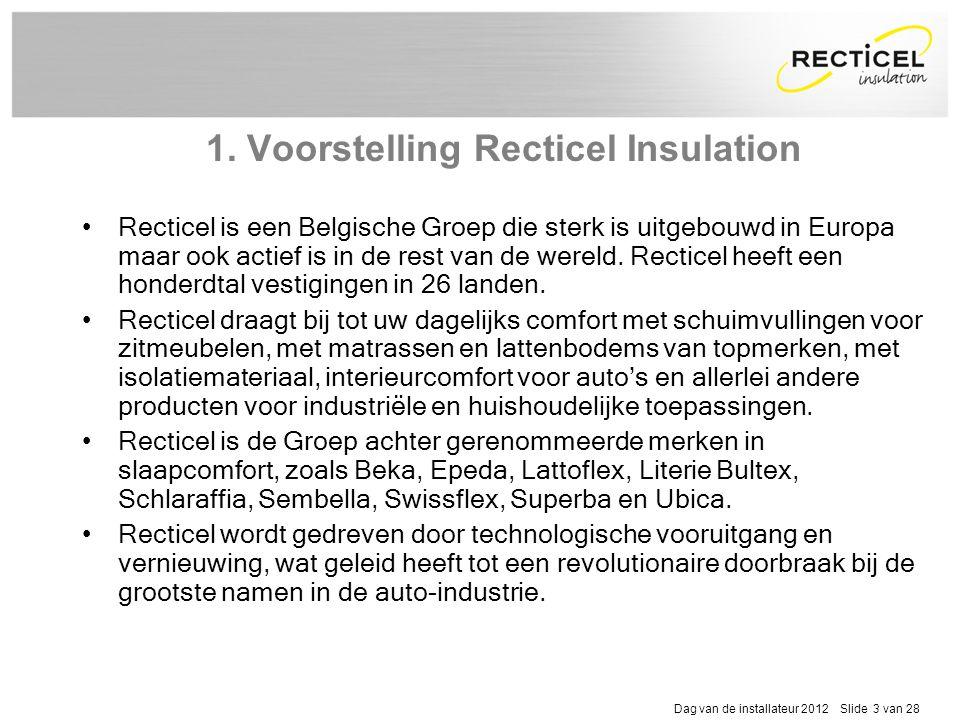 1. Voorstelling Recticel Insulation