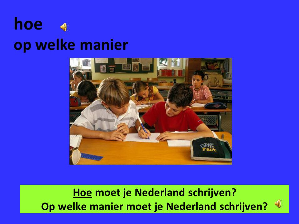 hoe op welke manier Hoe moet je Nederland schrijven Op welke manier moet je Nederland schrijven