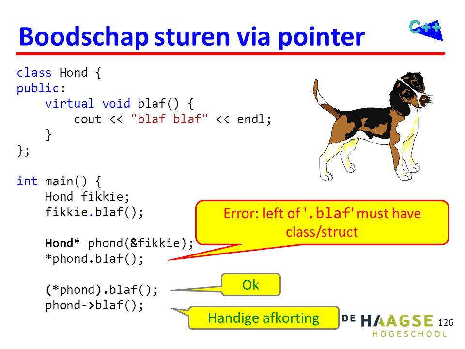 Slicing problem polymorfisme werkt alleen bij * en &. Waar blijft