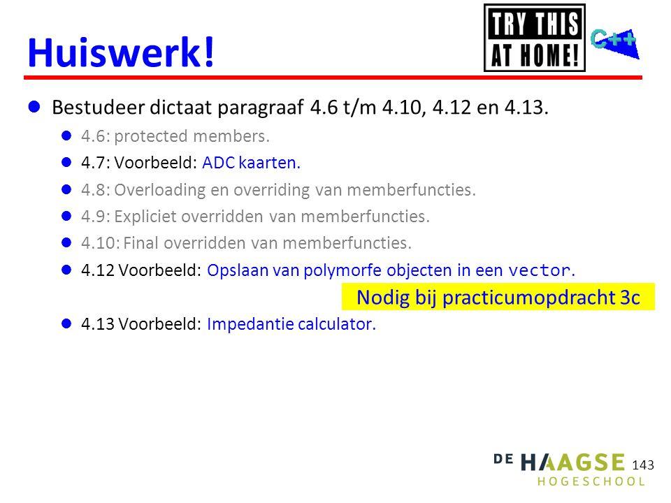 Huiswerk! http://bd.eduweb.hhs.nl/ogoprg/pdf/proeftentamen_1.pdf