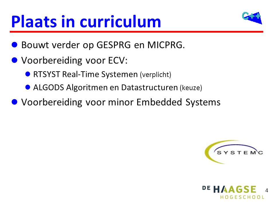 Leermiddelen Blackboard OGOPRG. http://bd.eduweb.hhs.nl/ogoprg: Boek: