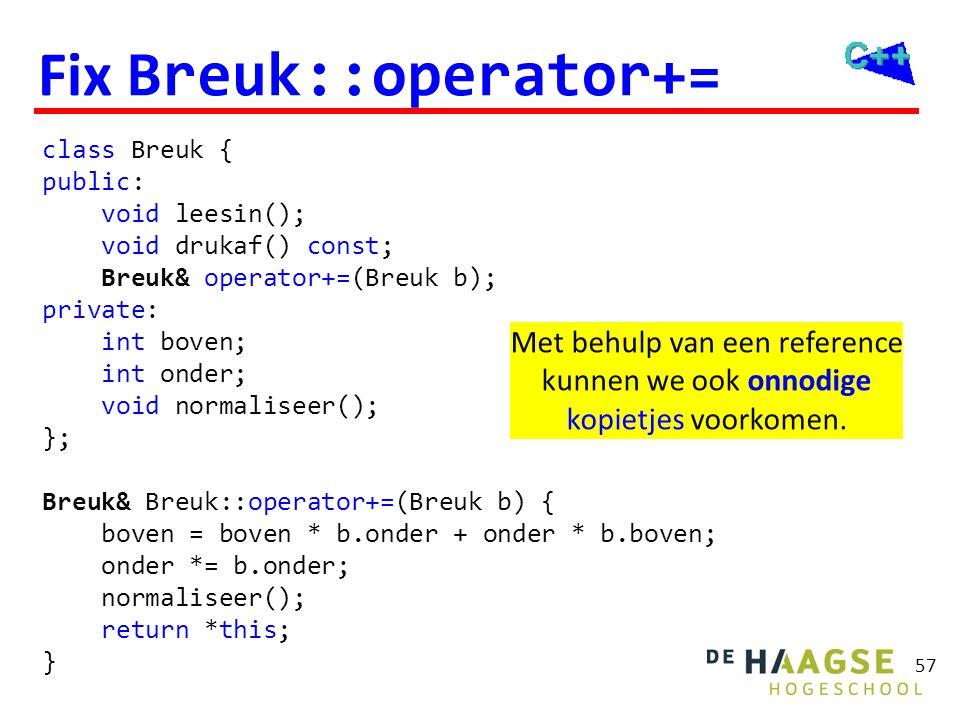 Fix Breuk::operator+=