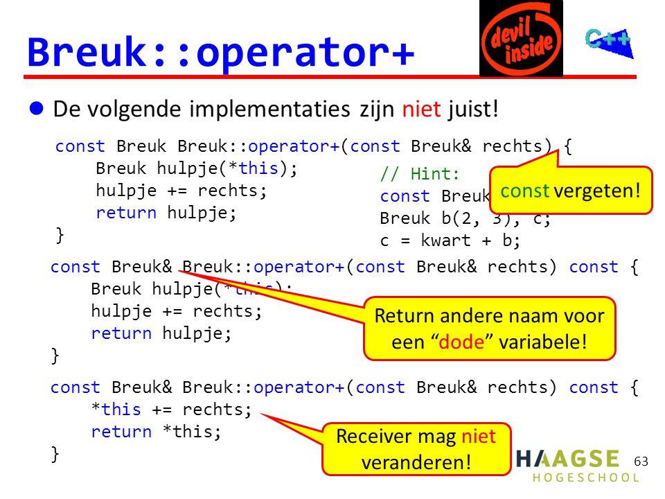 Breuk::operator+ probleem!