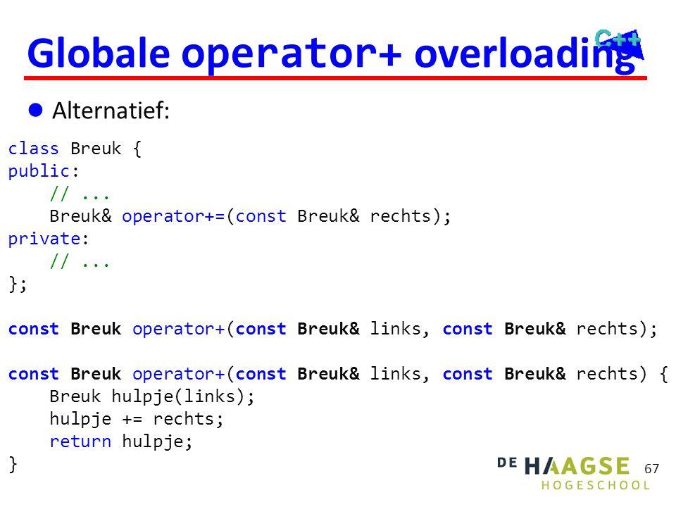 Fix: Breuk::operator+
