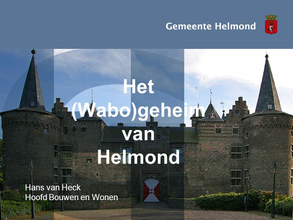 Het (Wabo)geheim van Helmond