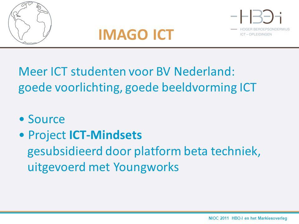 IMAGO ICT Meer ICT studenten voor BV Nederland: