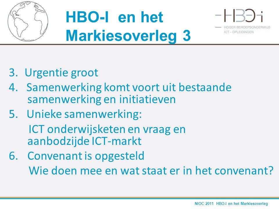 HBO-I en het Markiesoverleg 3