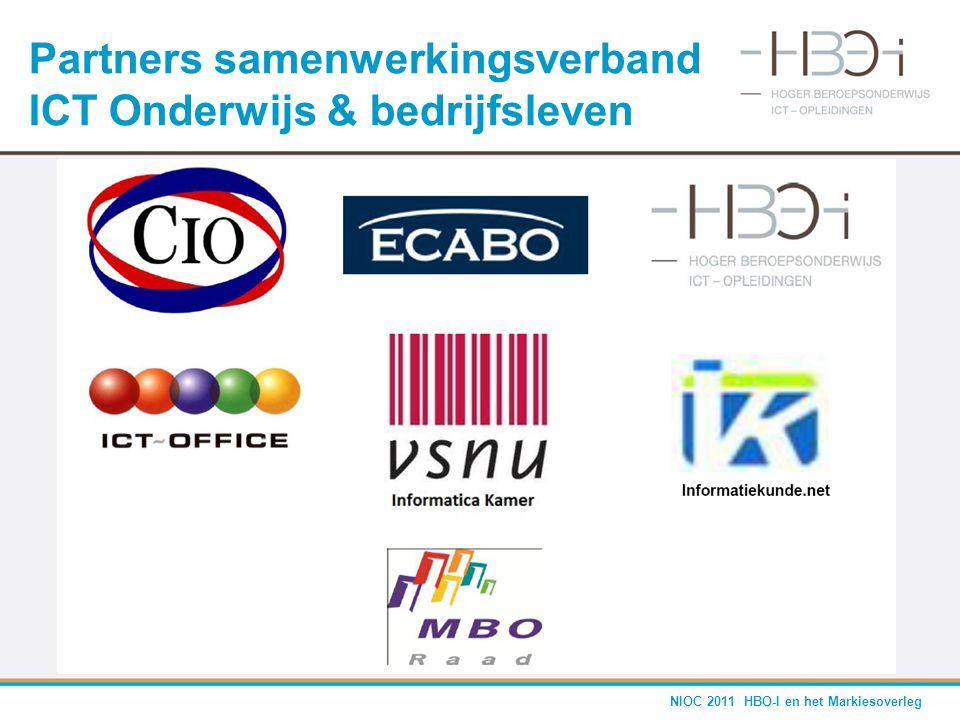 Partners samenwerkingsverband ICT Onderwijs & bedrijfsleven