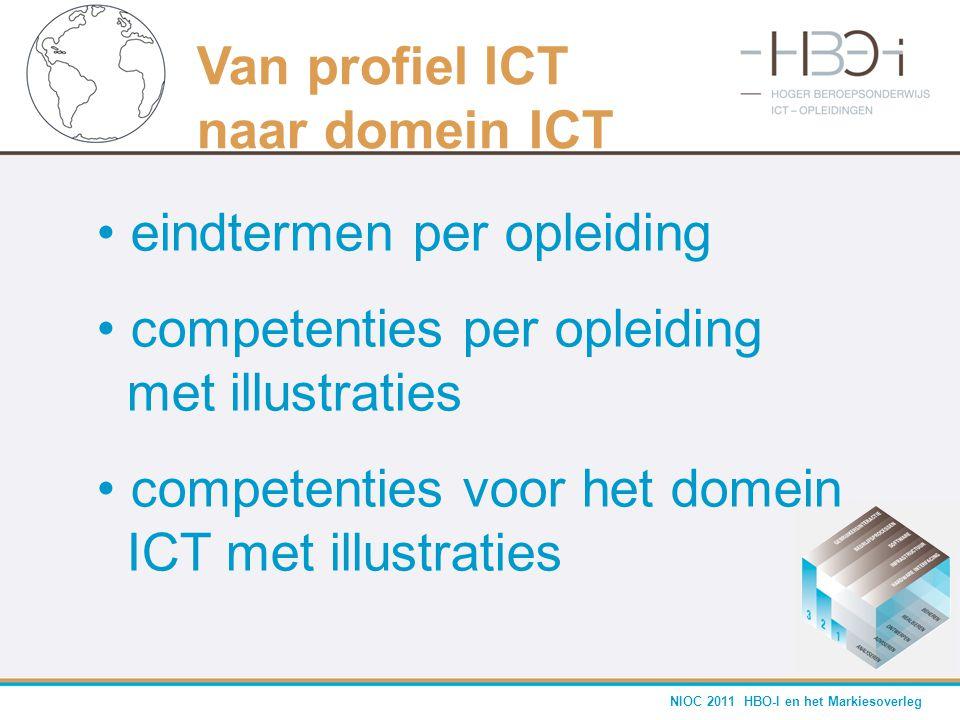 Van profiel ICT naar domein ICT