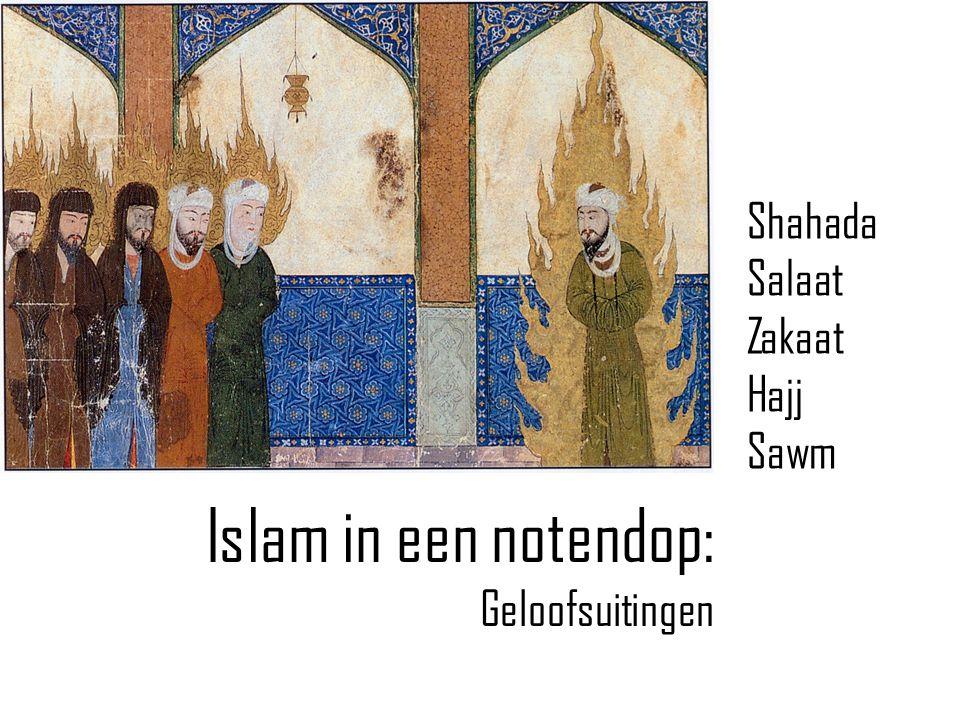 Islam in een notendop: Geloofsuitingen