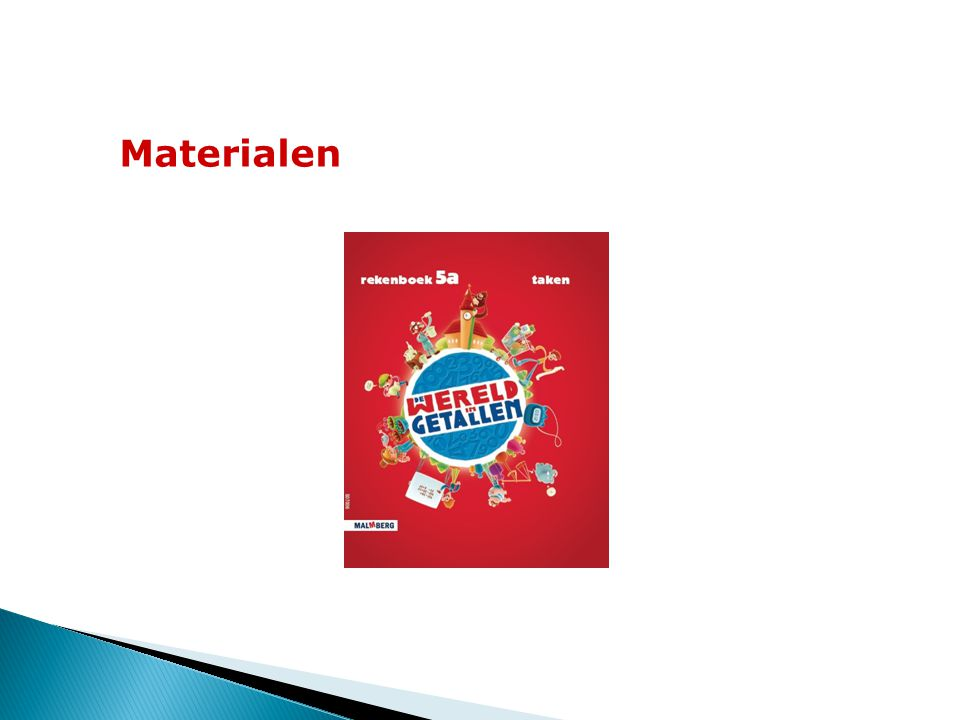 Materialen 13 Omkeerboek