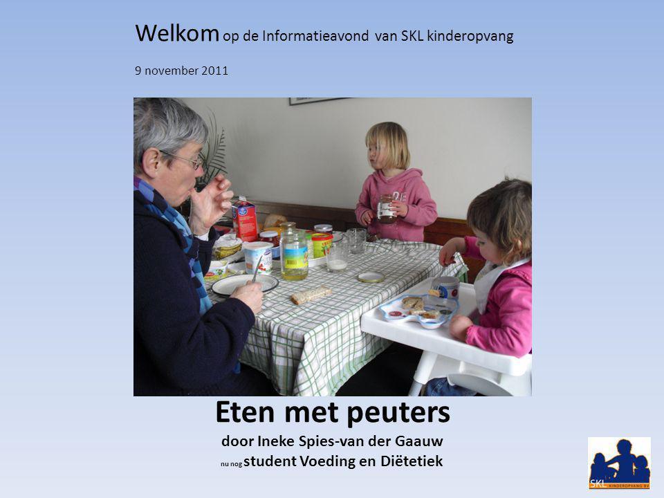 Welkom op de Informatieavond van SKL kinderopvang