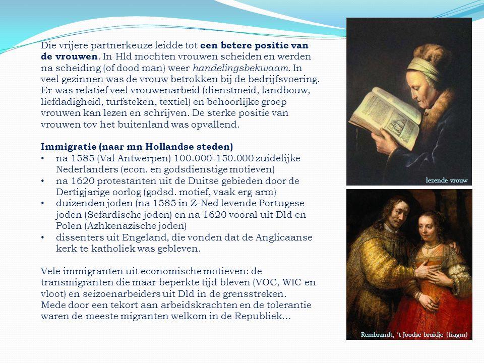 Immigratie (naar mn Hollandse steden)