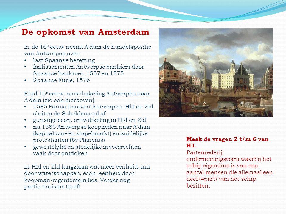 De opkomst van Amsterdam