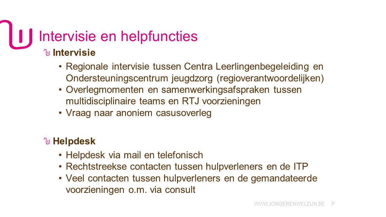 Intervisie en helpfuncties