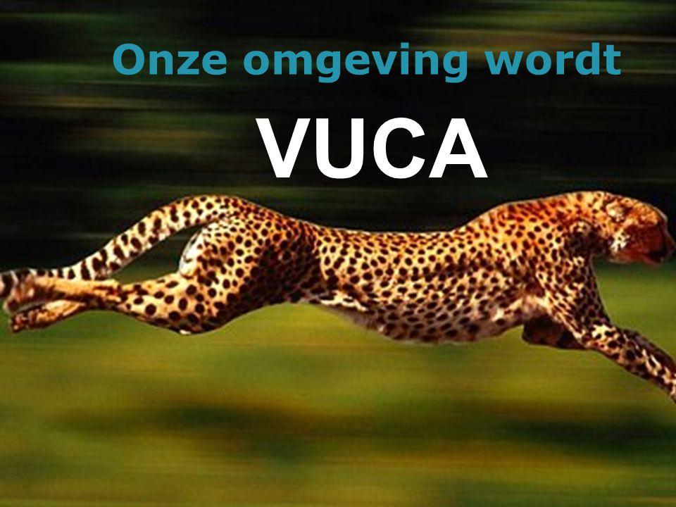 Onze omgeving wordt VUCA