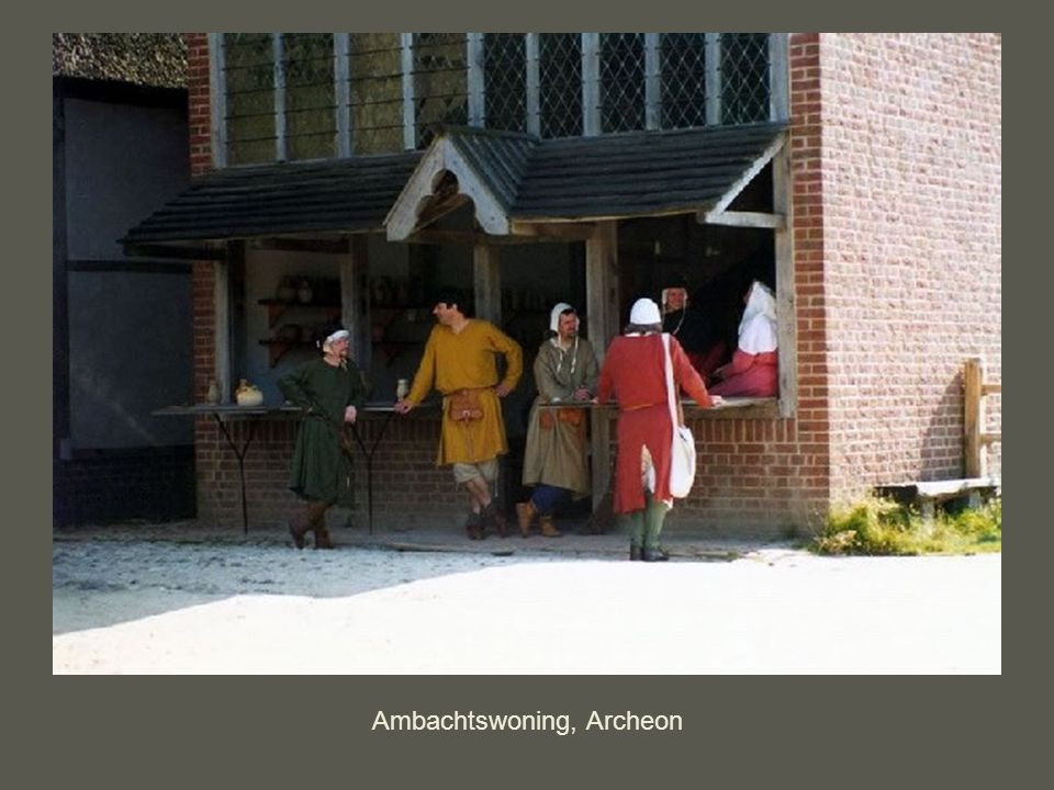 Ambachtswoning, Archeon